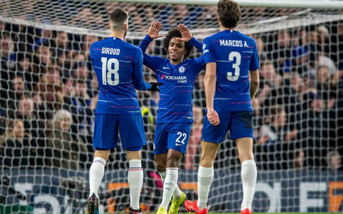 Chelsea mängijad