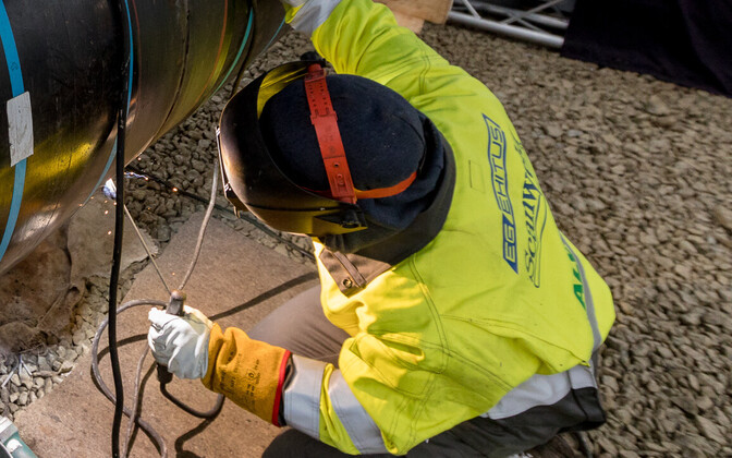 Специалисты Eesti Gaas ликвидировали утечку газа.
