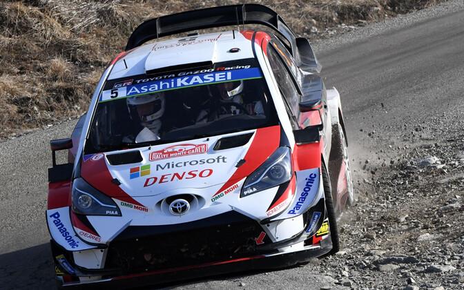 Kris Meeke (Toyota) Monte Carlo rallil