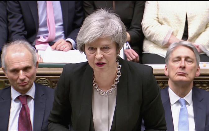 Тереза Мэй оправилась от недавного поражения в парламенте.