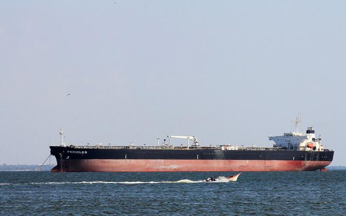 Naftatanker Venezuela rannikul.