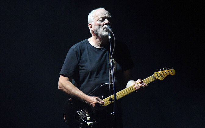 David Gilmour 2015. aastal Oberhausenis, Saksamaal.
