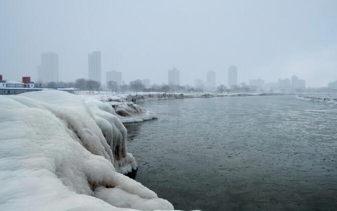 Ilm Chicagos 30. jaanuaril.