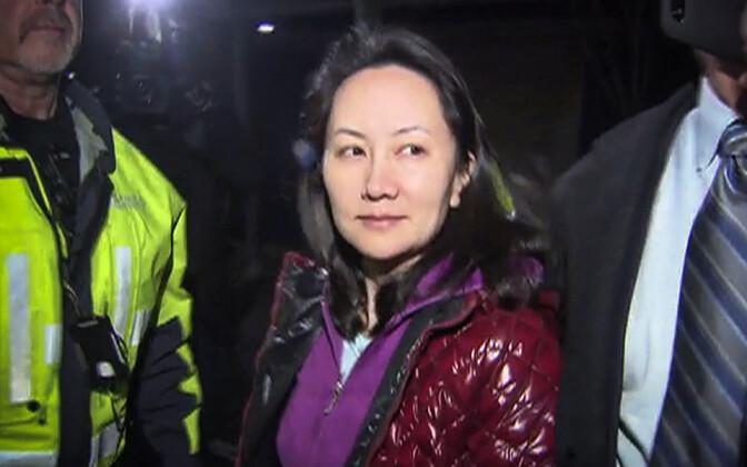Huawei finantsjuht Meng Wanzhou on Hiina suurettevõtte asutaja tütar.