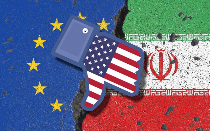 Euroopa Liit, USA ja Iraan.