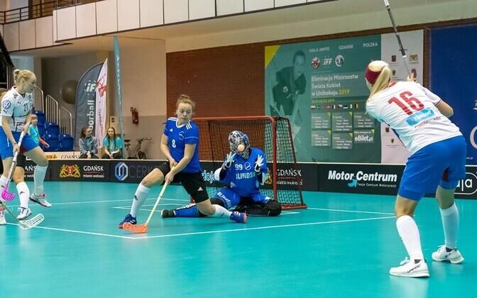 Сборная Чехии подвтердила свой статус фаворита в игре с эстонками.