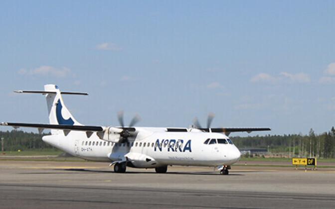ATR 72-500 of Norra.