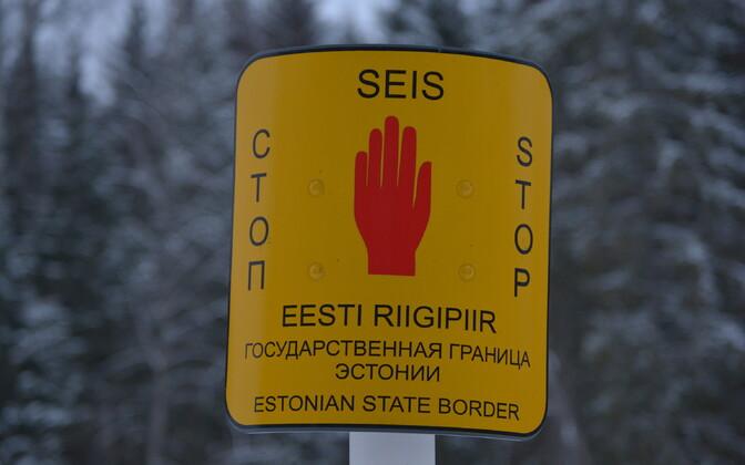 Estonian state border
