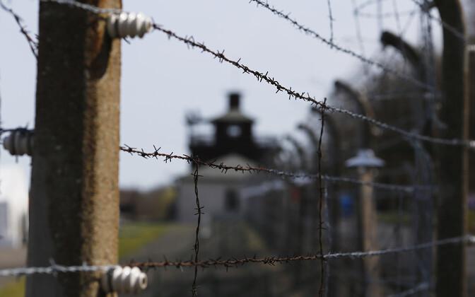 Kunagise Buchenwaldi koonduslaagri aed.