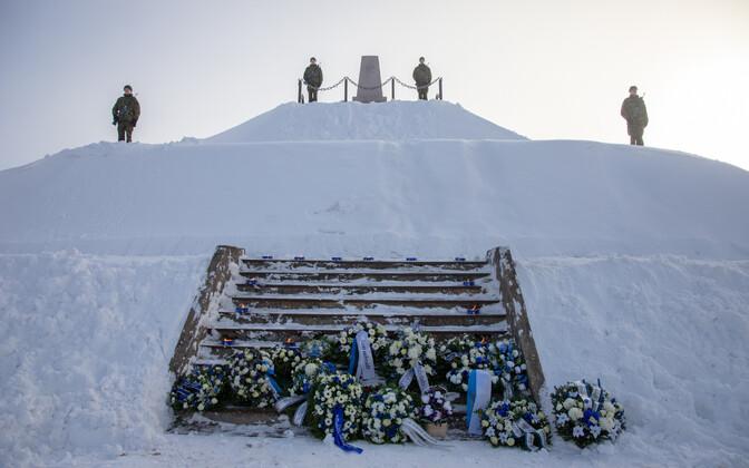 Valgas peeti Paju lahingu 100. aastapäeva.