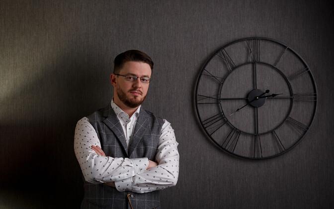 """Roman Timofejev, psühholoog ja raamatu """"Sisemine tasakaal"""" autor"""
