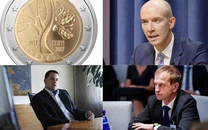 Eesti Panga juhiks kandideerivad Madis Müller, Robert Kitt ja Märten Ross