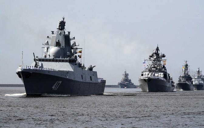Станции ослепления установили на два российских фрегата.