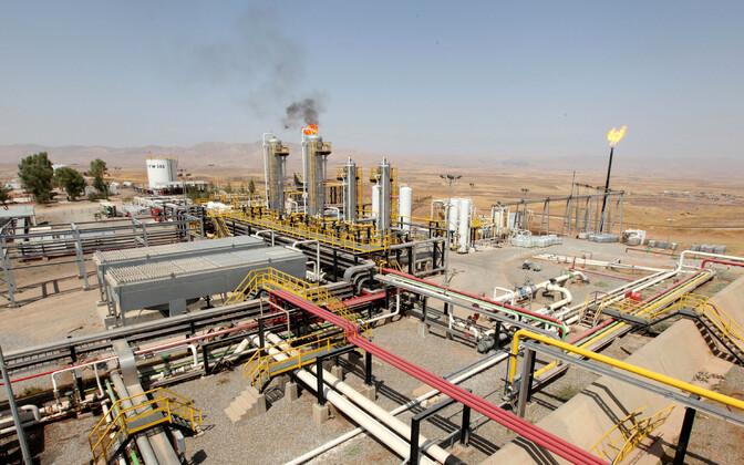 Naftaväli Iraagis Arbilis.