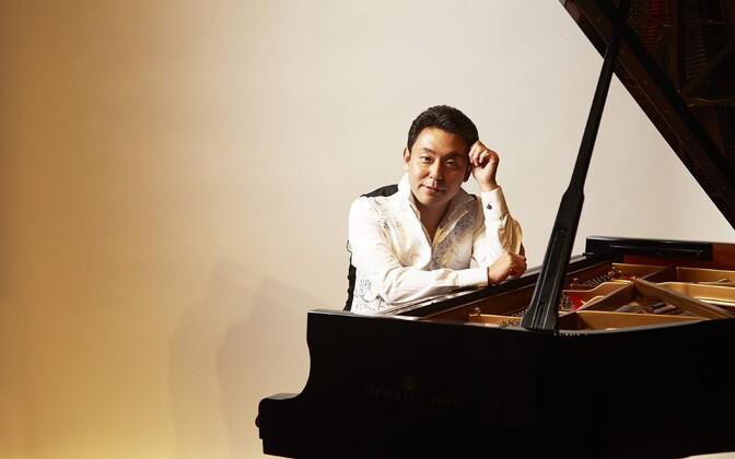 Klaverivirtuoos ja Guinness rekordiomanik Yukio Yokoyama.
