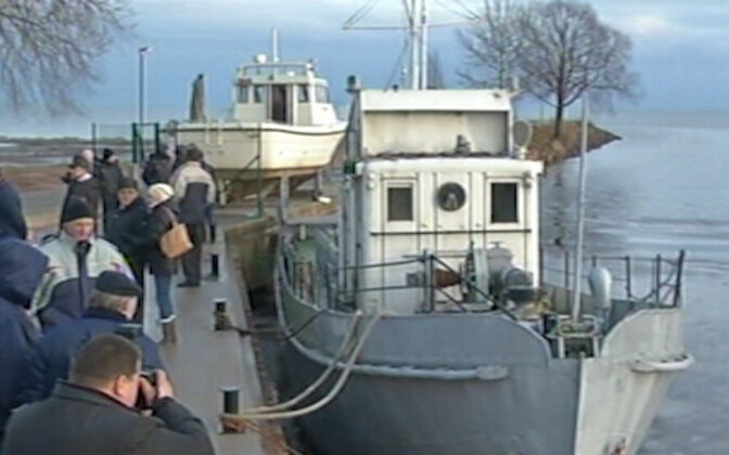 В порту Муствеэ.