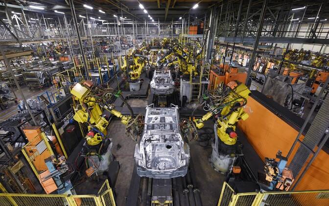 Nissani tehas Sunderlandis.