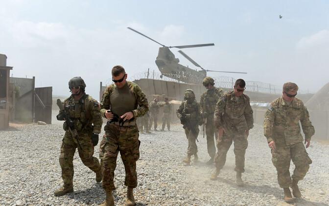 USA sõdurid Afganistanis.