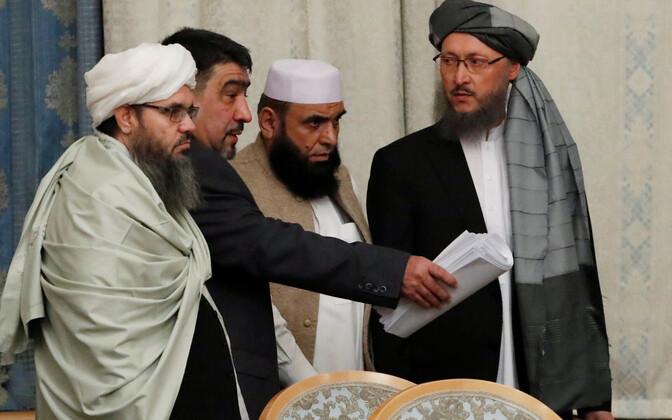 Talibani esindajad eelmisel aastal Moskvas.