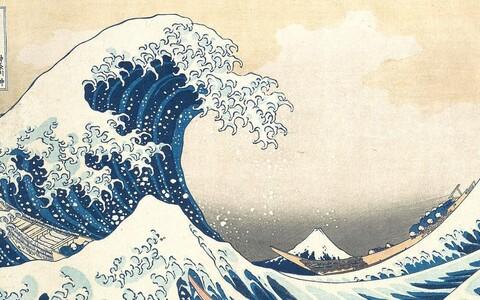 Teadlased võtsid eeskujuks Hokusai hiidlaine puulõike.