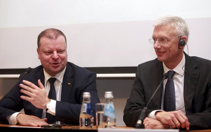 Leedu ja Läti peaminister.