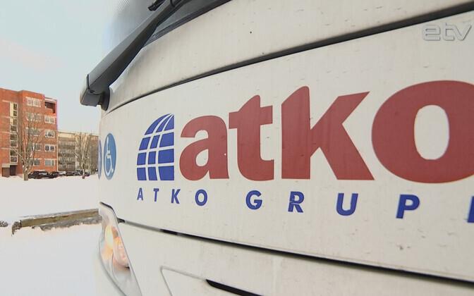 Проверка школьных автобусов в волости Харку