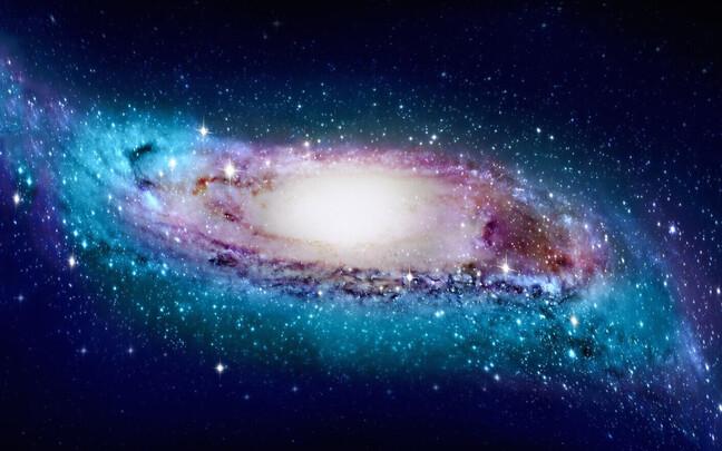 Teisest galaktikast vaadatuna võiks paista Linnutee kohati säbruline.