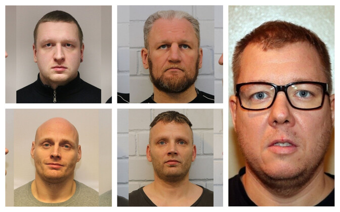 Полиция арестовала банду вымогателей.