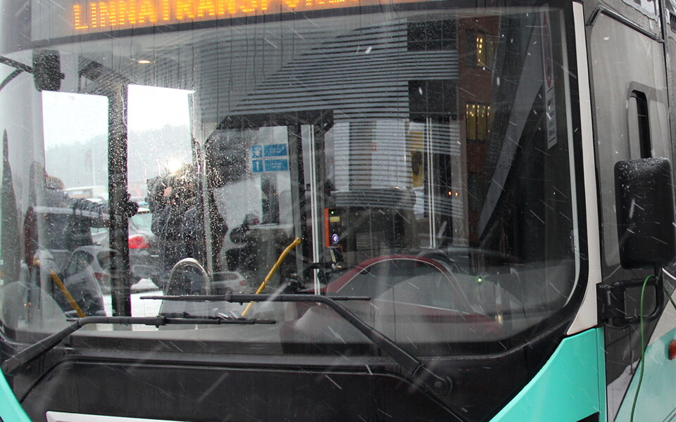 Таллиннский автобус. Иллюстративная фотография.