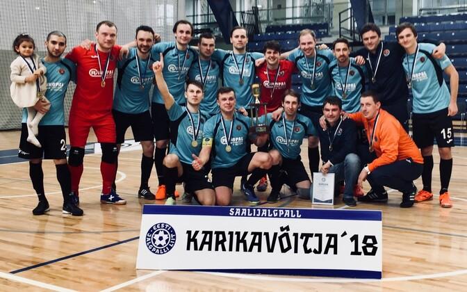 В прошлом сезоне команда из Виймси впервые выиграла Кубок Эстонии.