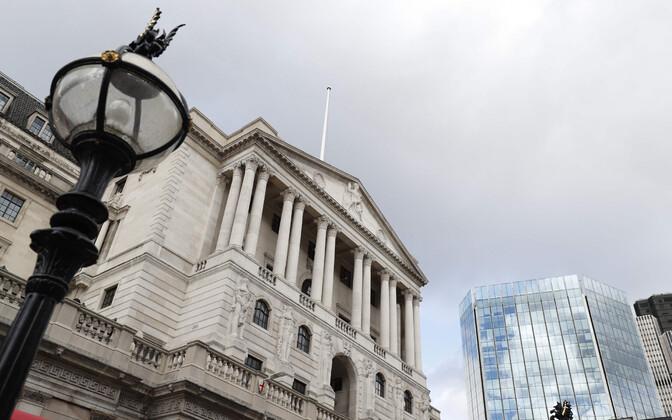 Inglise Pank ehk Suurbritannia keskpank.