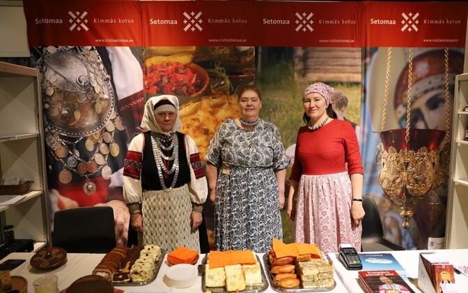 Представители Сетумаа – частые участники выставки Tourest.