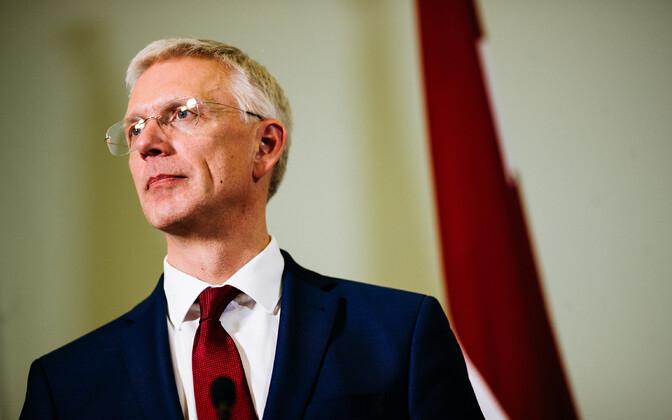 Премьер-министр Латвии Кришьянис Кариньш в Эстонии.
