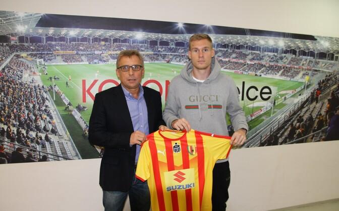 Йоонас Тамм продолжит карьеру в Польше.