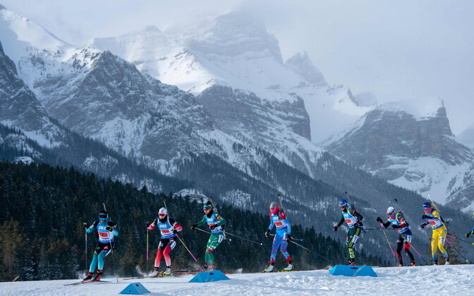 Очередной этап Кубка мира по биатлону проходит в канадском Кэнморе.