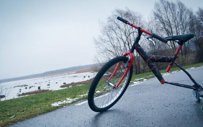 На ярмарке будут и изготовленные самими учениками интересные велосипеды.