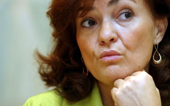Hispaania asepeaministri Carmen Calvo.