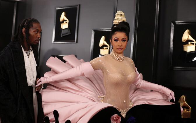 61. Grammyde gala, Cardi B