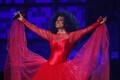 61. Grammyde gala, Diana Ross