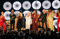 61. Grammyde gala, Katy Perry, Phillip Sweet, Karen Fairchild, Dolly Parton, Kimberly Schlapman, Jimi Westbrook, Miley Cyrus ja Kacey Musgraves