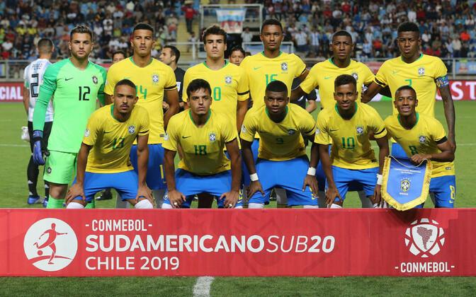 Brasiilia U-20 jalgpallikoondis