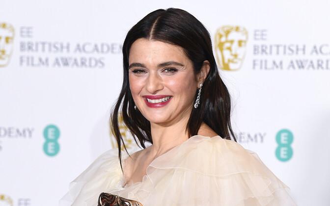 Londonis selgusid 72. Briti filmiauhindade võitjad. Pildil näitleja Rachel Weisz.