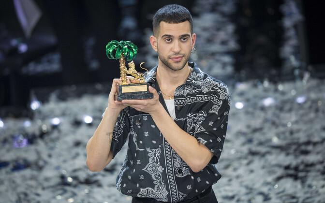 Sanremo festivali võitja Alessandro Mahmood