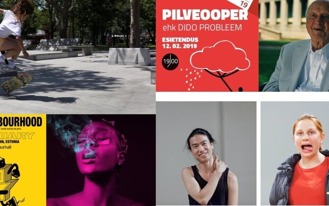 The Culture Critics' blog at culture.ee publishes a weekly roundup of recommendations for cultural events across Estonia every Monday.