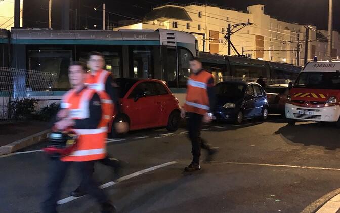 Trammide kokkupõrge Pariisis.