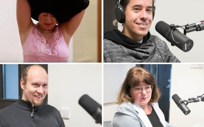 Üksikkandidaadid Maarika Pähklemäe, Hando Tõnumaa, Risto Nahkor ja Ege Hirv.
