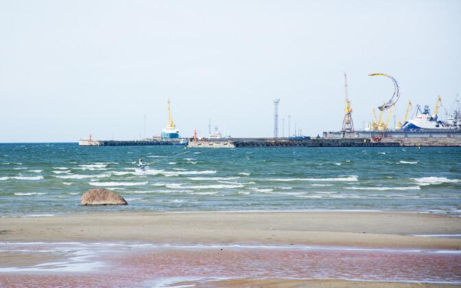Пляж Штромка.