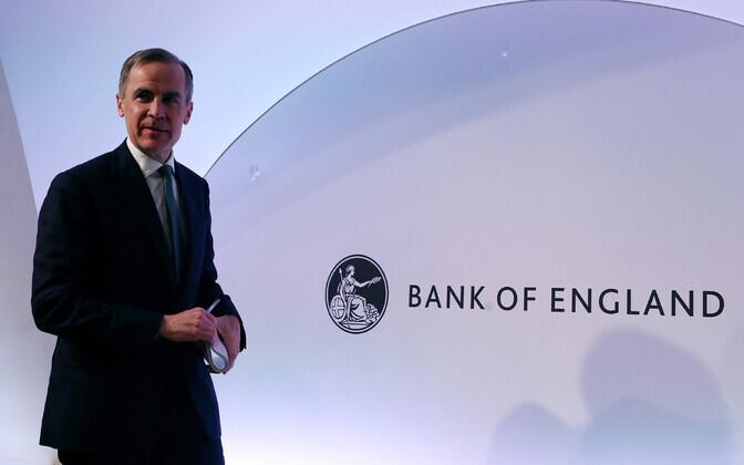 Briti keskpanga president Mark Carney.