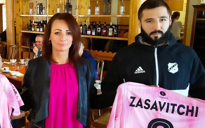 Евгений Засавицкий подписал трехлетний контракт с