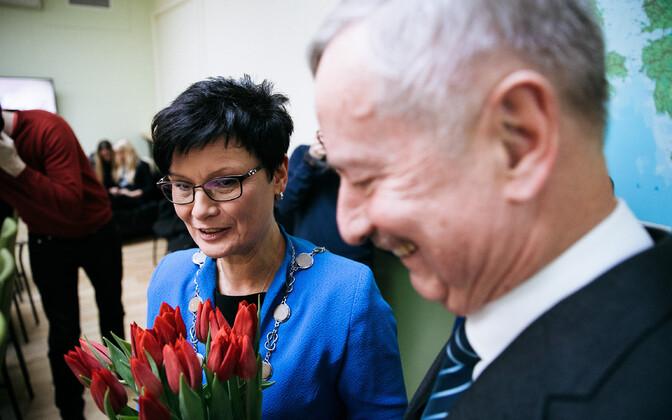 Лайне Рандъярв и Сийм Каллас